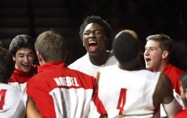 Stanley Johnson, center, and Mater Dei are once again among the Southland's best basketball teams.