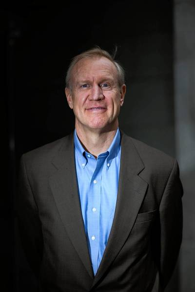 Bruce Rauner is running in the Republican primary for Illinois governor.