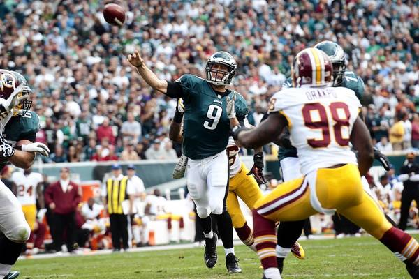 The Eagles must be able to withstand quarterback Nick Foles' progress leveling off in the final part of the season.