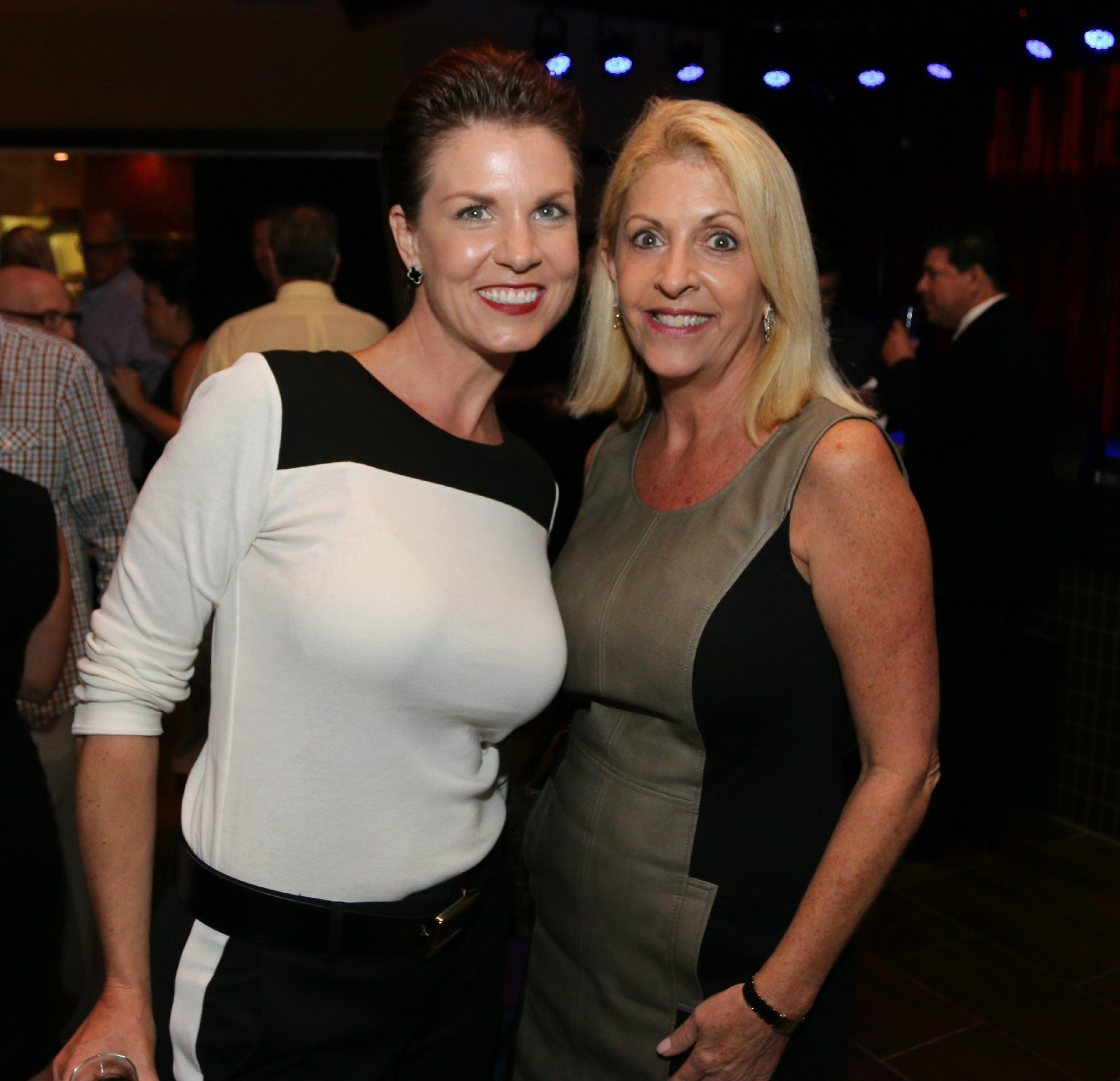 Jazziz Nightlife Grand Opening Party - Jamie Meyerson and Debi Feiler