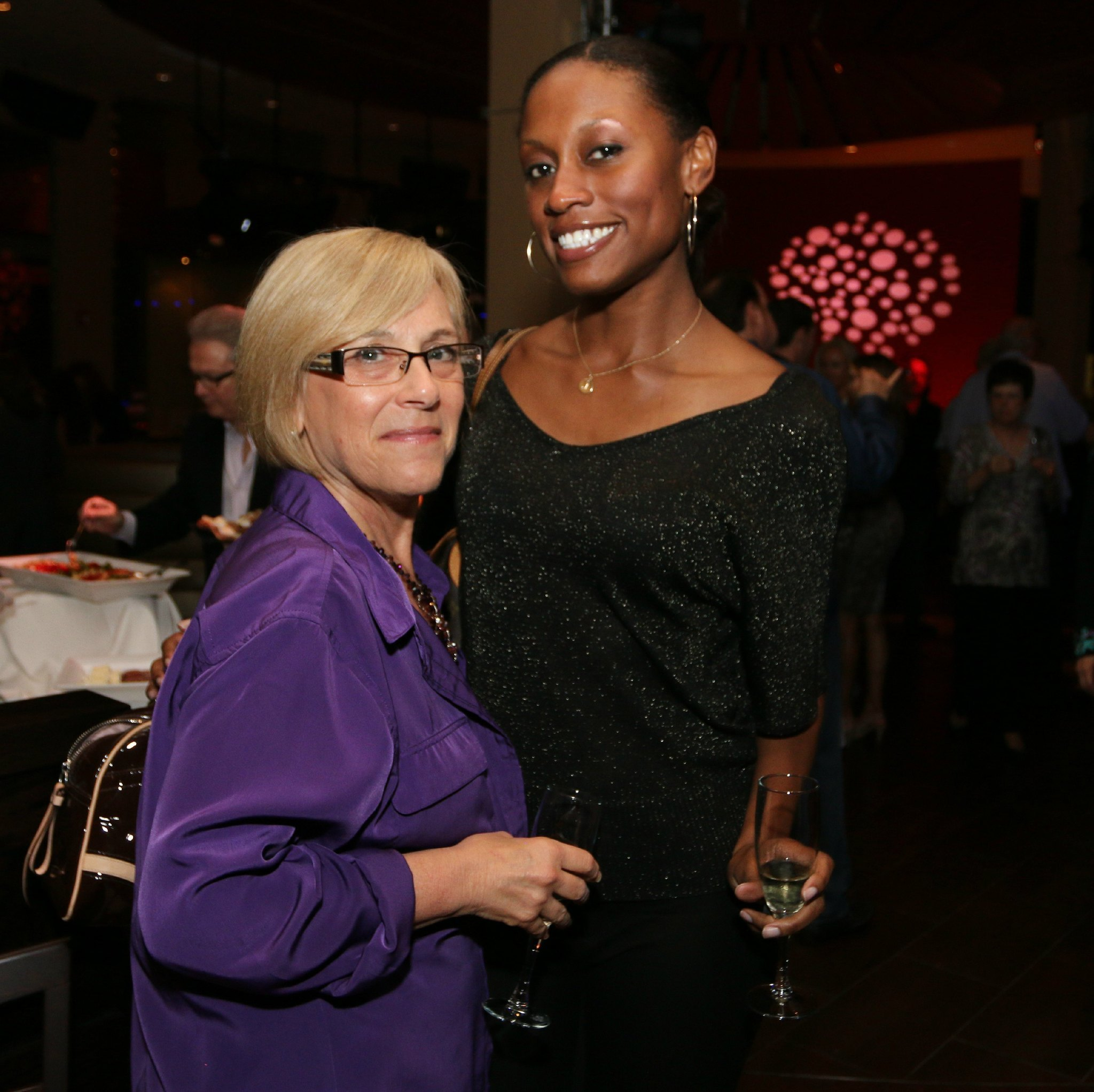 Jazziz Nightlife Grand Opening Party - Kathy Doherty and Jania McGee