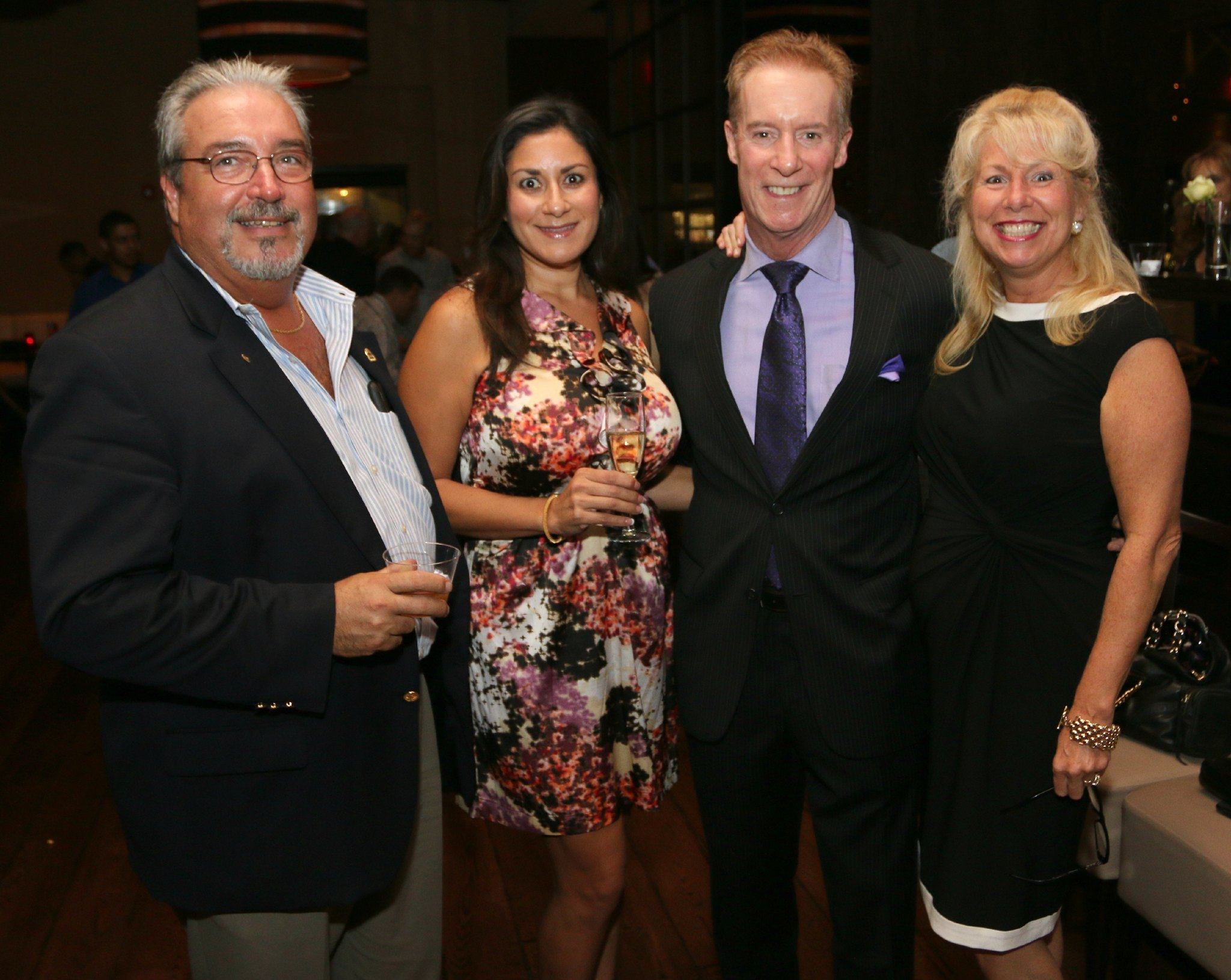Jazziz Nightlife Grand Opening Party - Ken Kaylor, Julissa Caballero, Chip Benton and Susan Kaplan