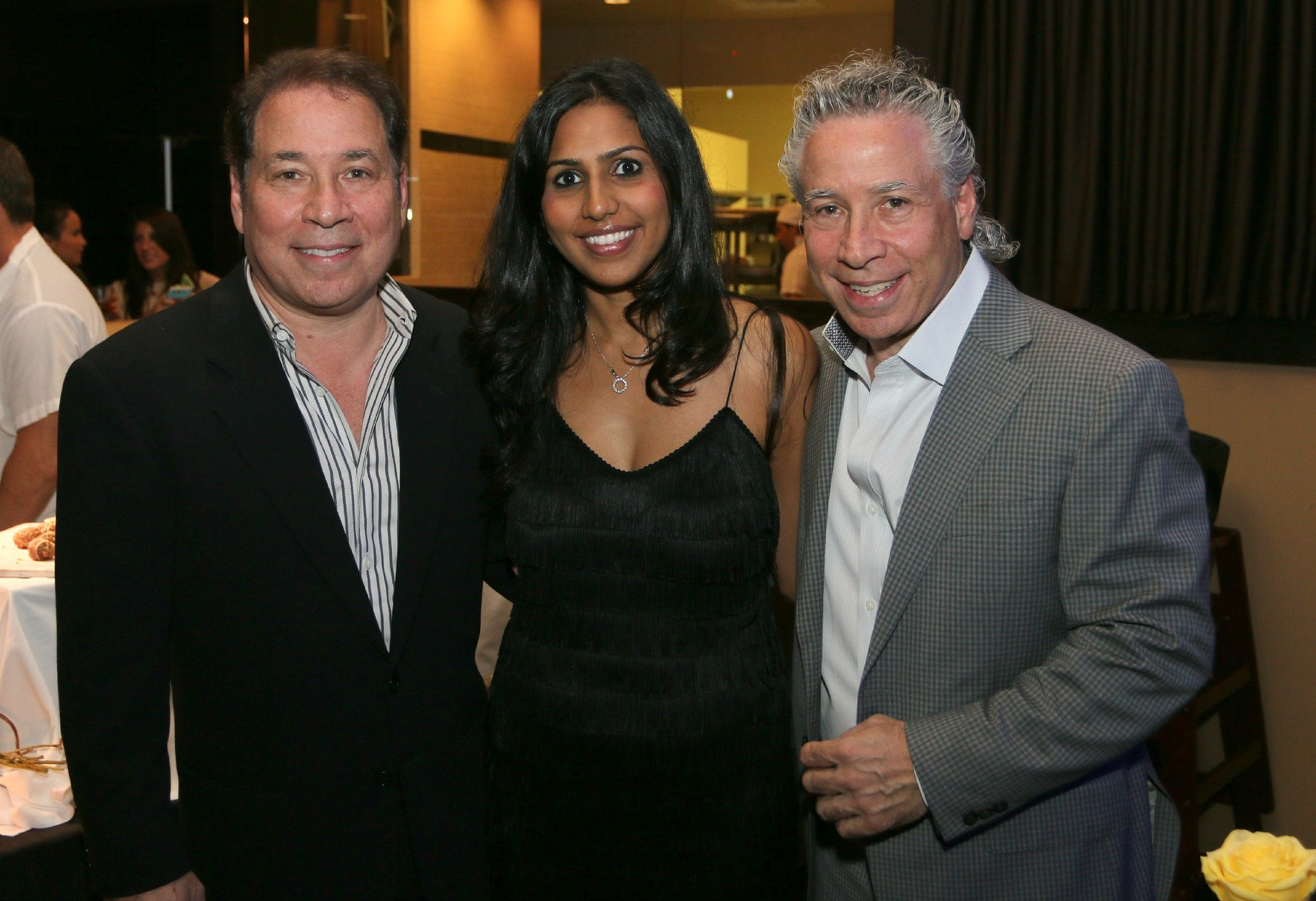 Jazziz Nightlife Grand Opening Party - Michael and Zakiya Fagien, Steven Fagien