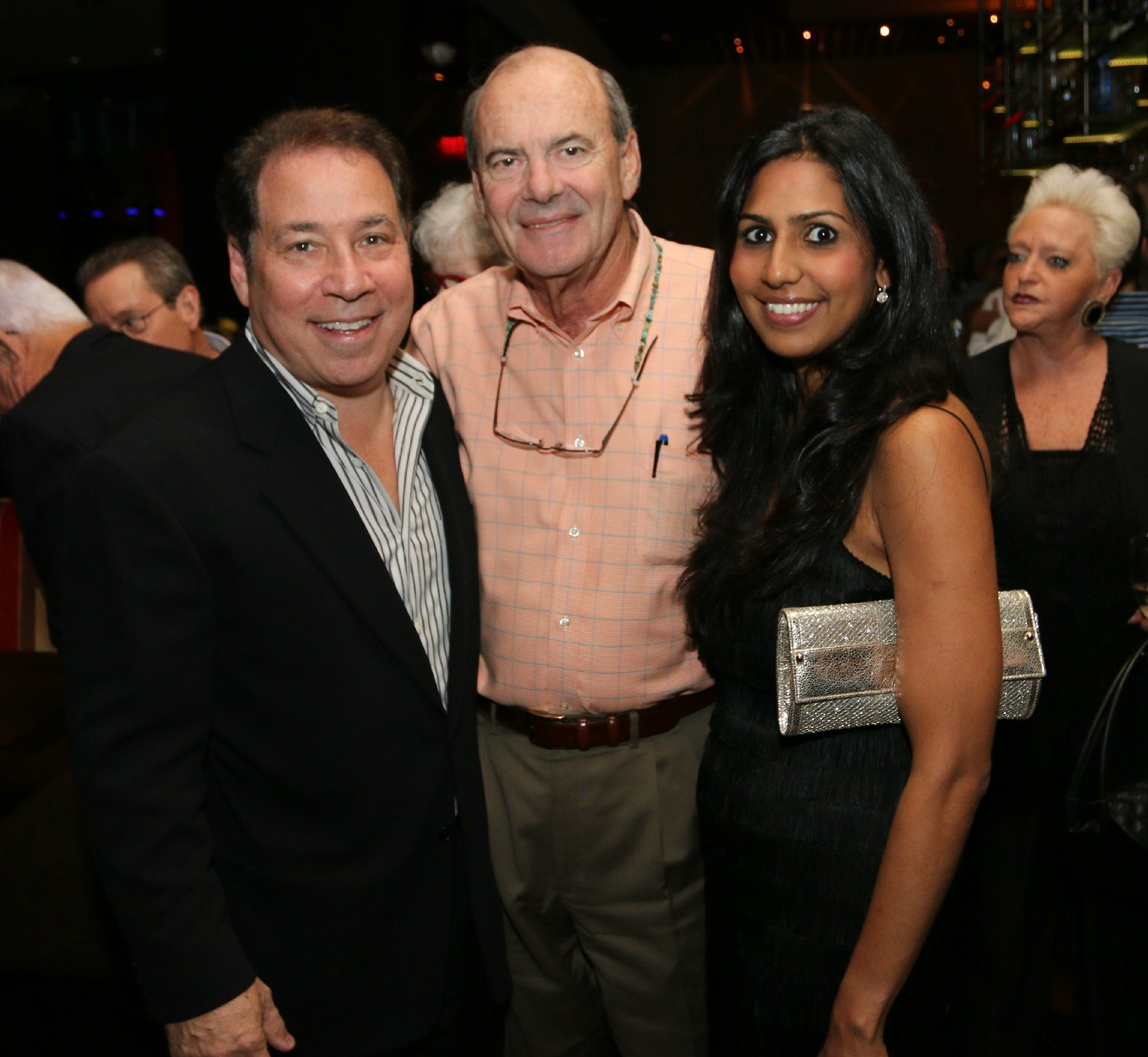 Jazziz Nightlife Grand Opening Party - Michael Fagien, Charlie Siemon and Zakiya Fagien