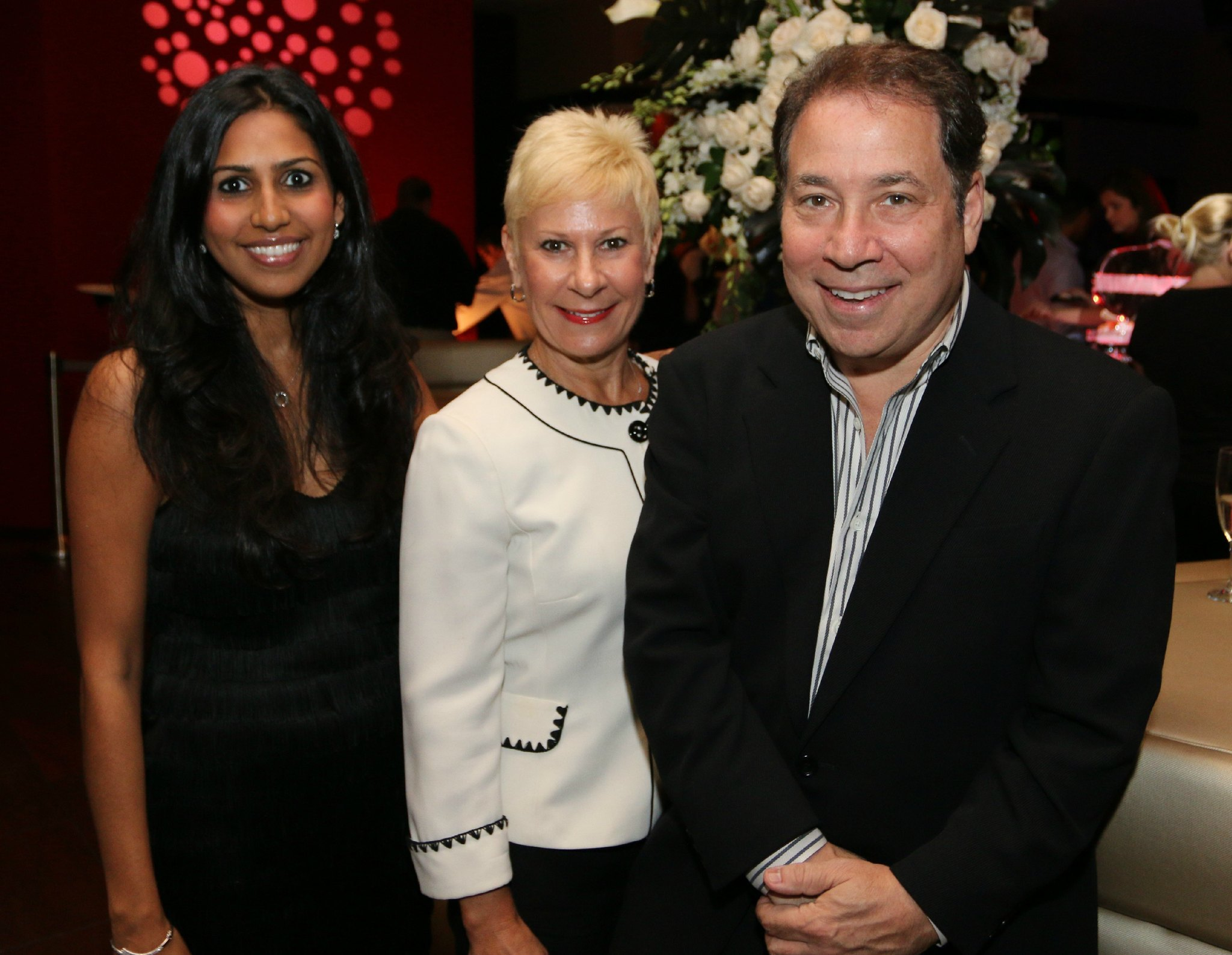Jazziz Nightlife Grand Opening Party - Zakiya Fagien, Constance Scott and Michael Fagien