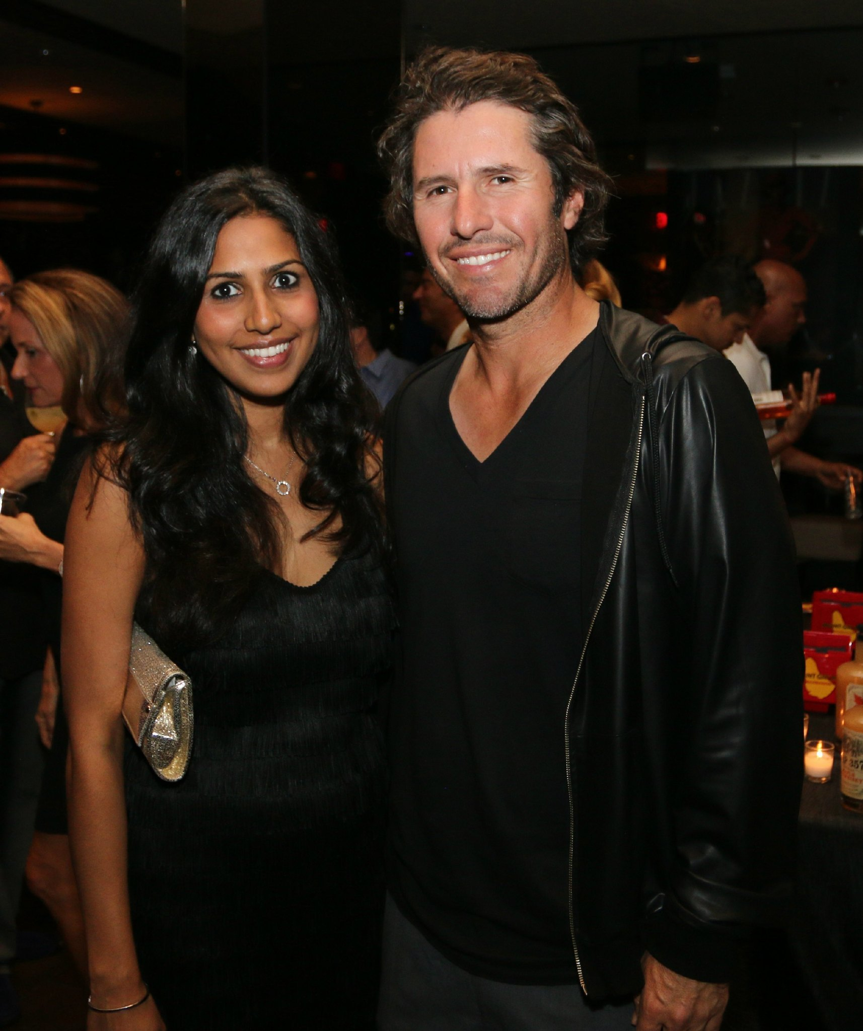 Jazziz Nightlife Grand Opening Party - Zakiya Fagien and Vince Spadea
