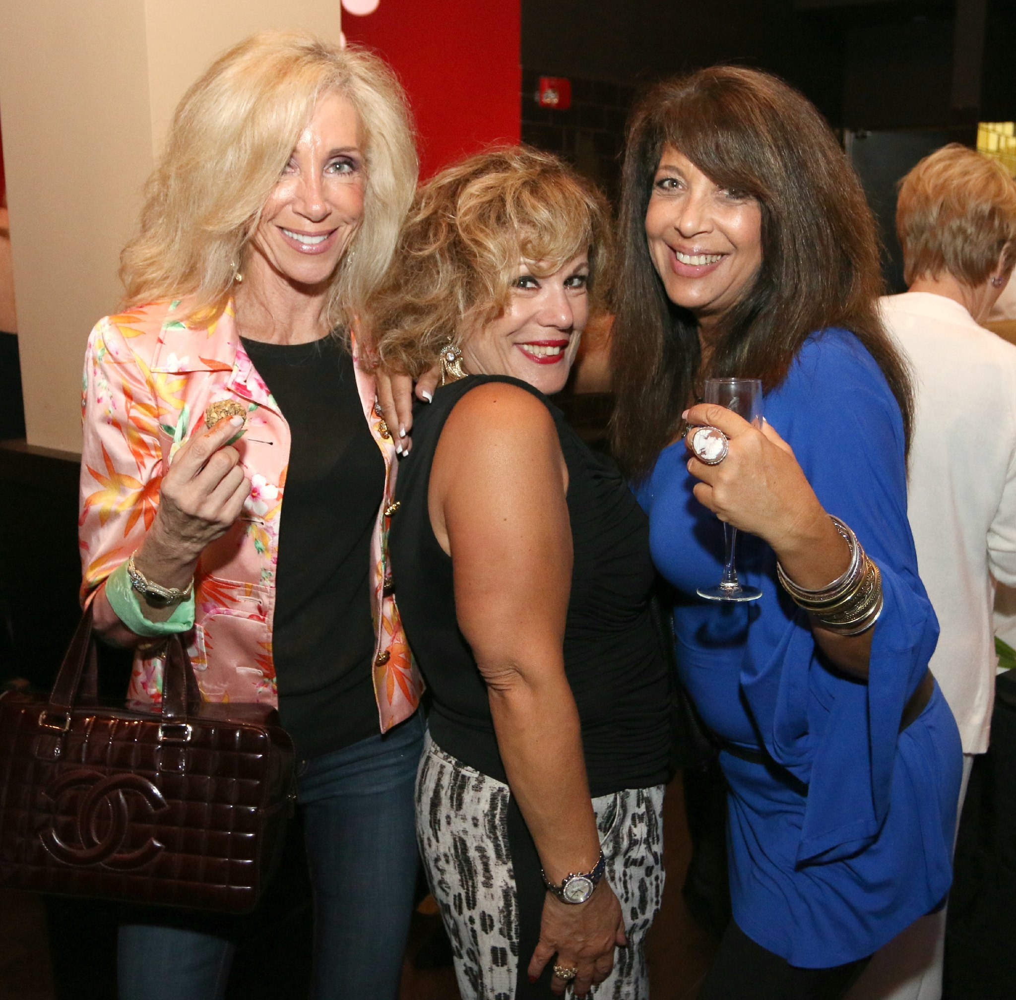 Jazziz Nightlife Grand Opening Party - Tweety Donner, Ester Gelfand and Bonnie Sohn