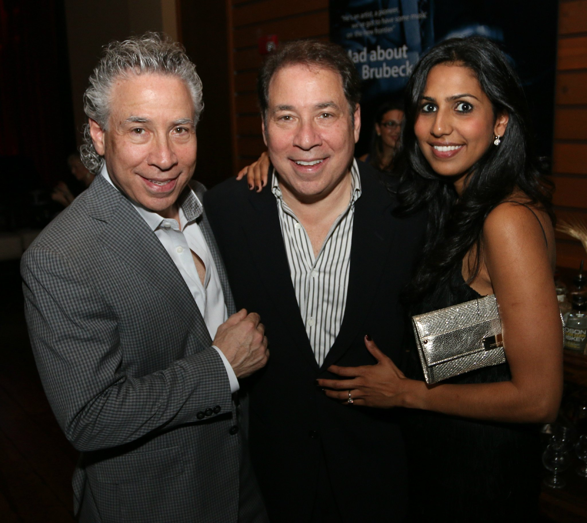 Jazziz Nightlife Grand Opening Party - Steven Fagien, Michael and Zakiya Fagien