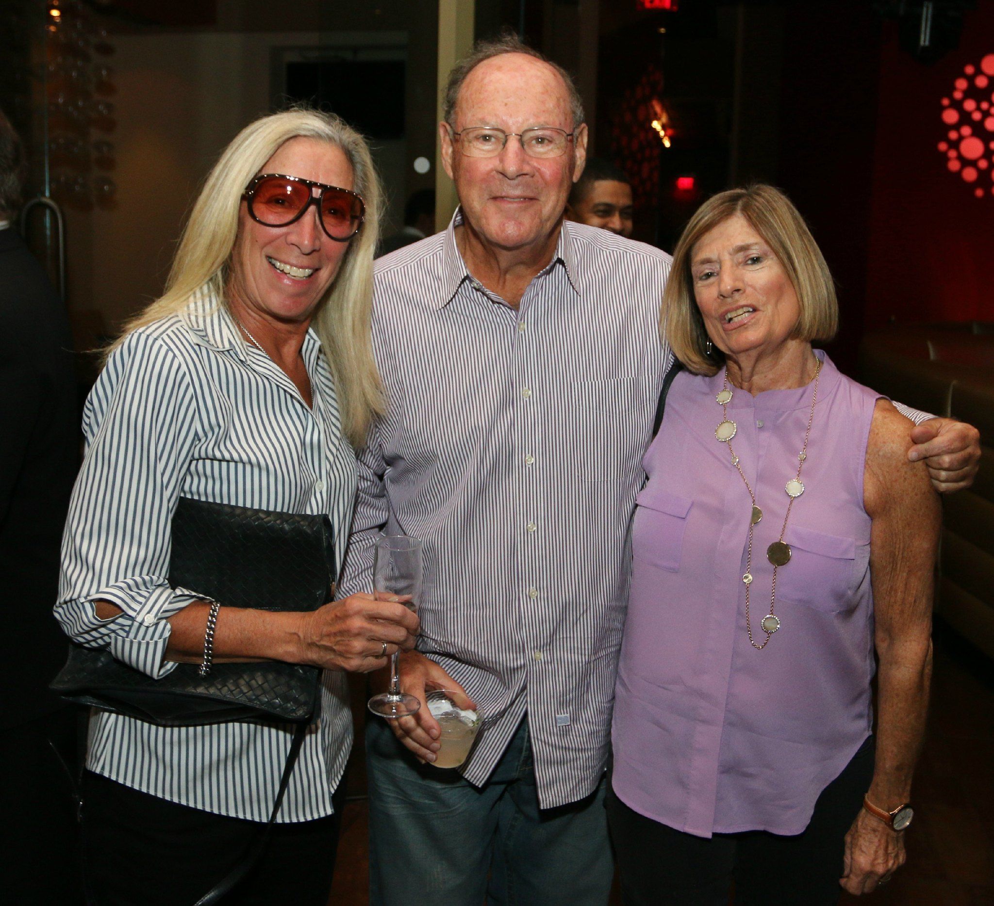 Jazziz Nightlife Grand Opening Party - Ronnie Landau, Bob and Carole Armon