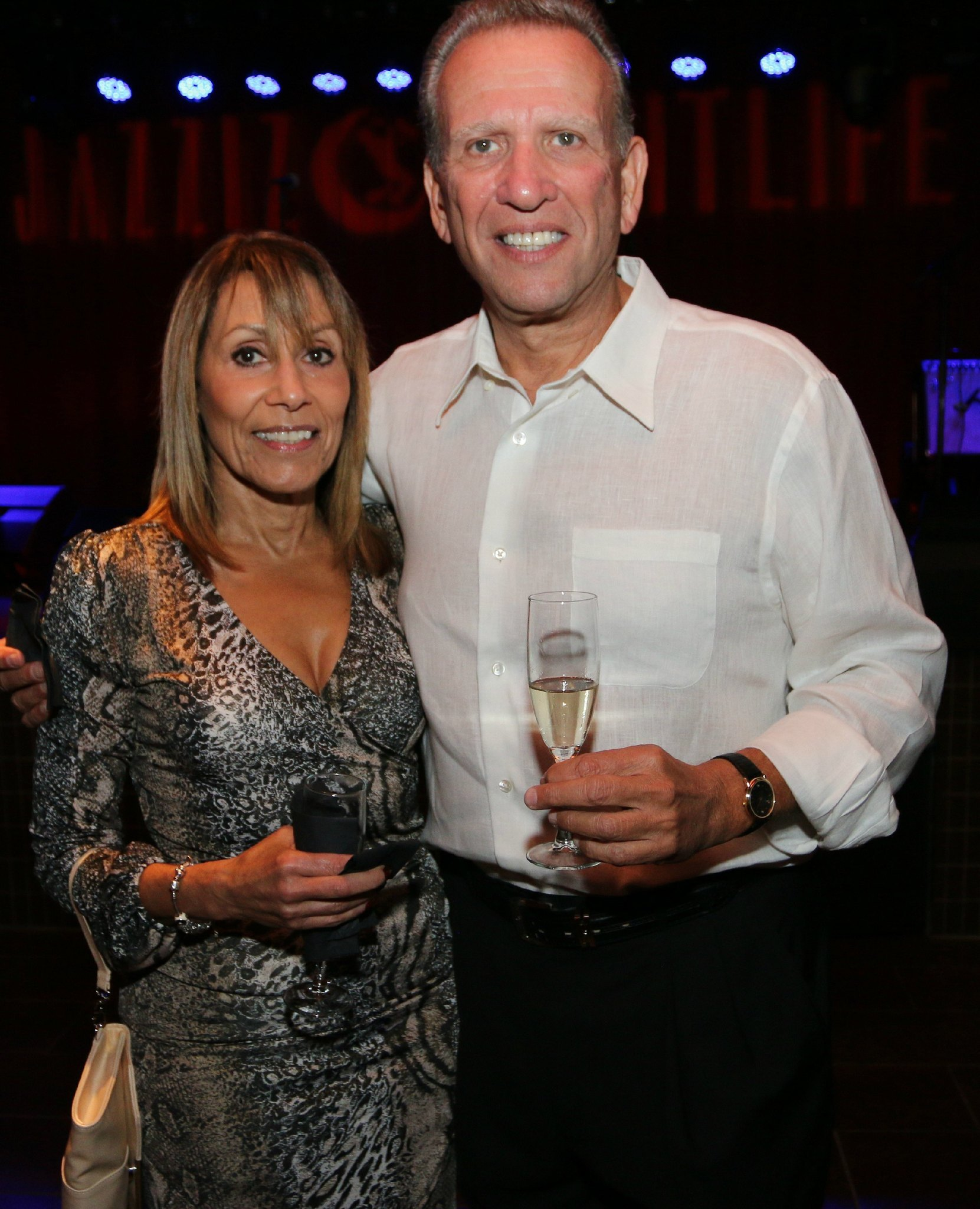 Jazziz Nightlife Grand Opening Party - Norma Garces and Ron Feldman