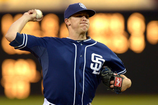 Brad Brach was 3-6 with a 3.70 ERA over parts of three major league seasons with the San Diego Padres.