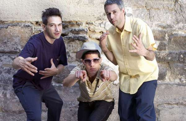 "The Beastie Boys -- Ad-Rock, left, Mike D and MCA, in 2004. Surviving members Ad-Rock and Mike D have issues with a parody of their song ""Girls."""
