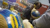 Video: Food Bank distributes turkeys for Thanksgiving