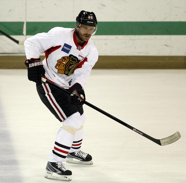 Chicago Blackhawks center Michal Handzus is set to return from injury.