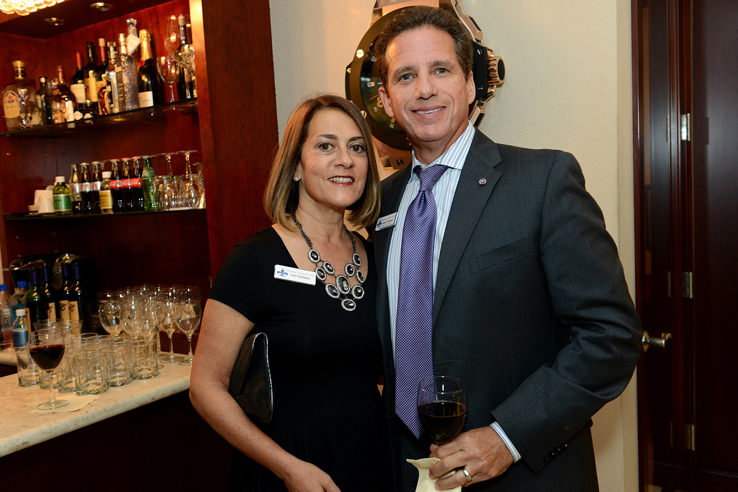Society Scene photos - Lori and Andy Taubman, Entrepreneurial Services Principal at Kaufman Rossin & Co.
