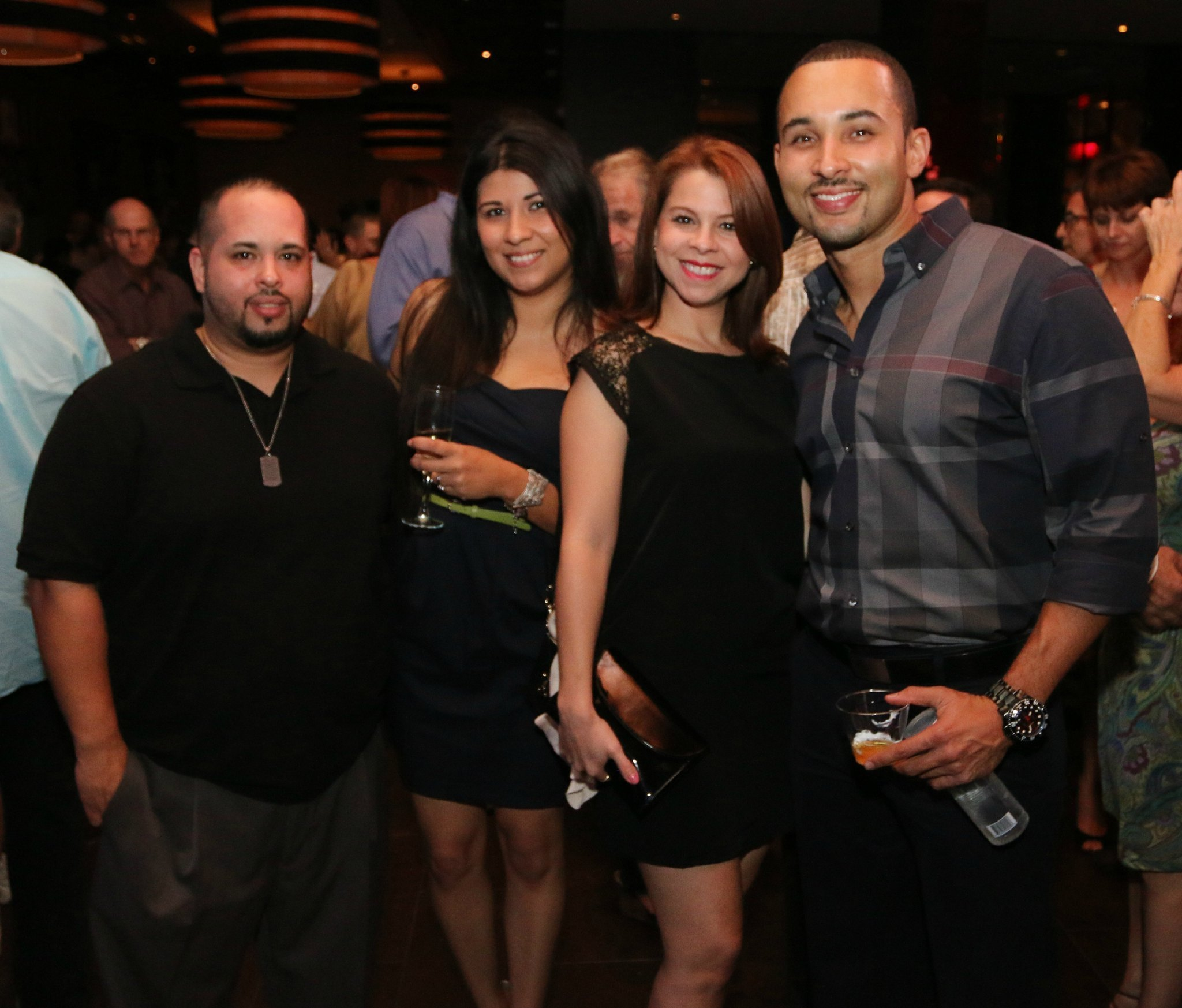 Jazziz Nightlife Grand Opening Party - Chrstian Rivera, Nadia Torres, Nicole Velazquez and Dennis Morel