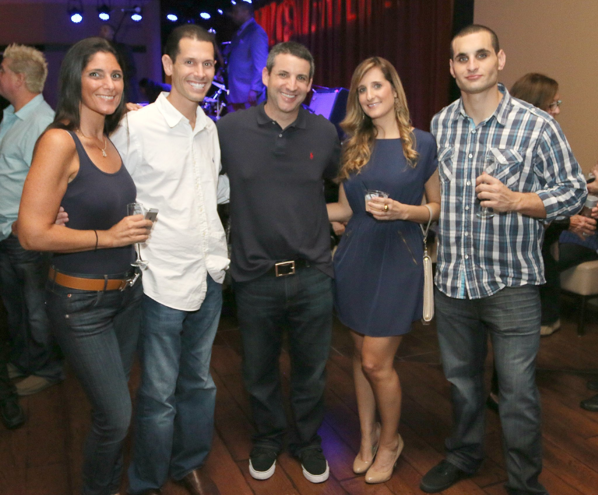 Jazziz Nightlife Grand Opening Party - Jay and Jen Vogel, Ryan Lieber, Cassie Zayne and Derek Zayne
