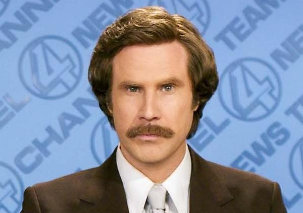 TSN is touting its new hire, Will Ferrell. As alter-ego Ron Burgundy, he will cover a Winnipeg, Canada, curling match.