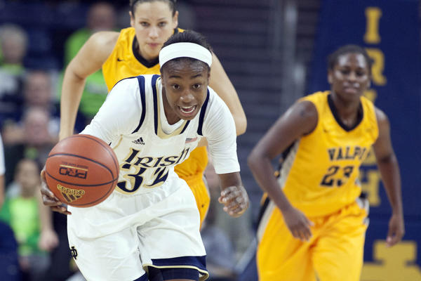 Notre Dame guard Jewell Loyd may be on her way to becoming the next Irish standout.