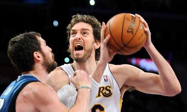 Are the Lakers willing to do what it takes to bring back forward Pau Gasol next season in the wake of Kobe Bryant's new two-year contract extension?