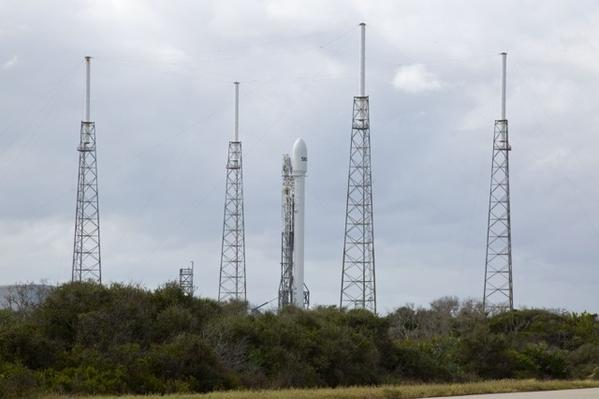 SpaceX's Falcon 9 rocket in Cape Canaveral had been slated for launch Monday.