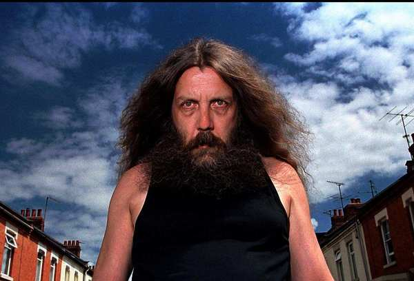 "Alan Moore, legendary comic-book writer and co-creator of ""Watchmen""  still considered the greatest comic book of all time  has a problem with superheroes."