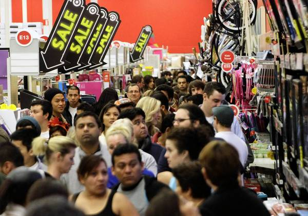 While many are still seated at the dinner table, others on Thanksgiving Day will be celebrating Christmas by shopping at the many stores open in the evening to kick-start the pre-Black Friday frenzy.