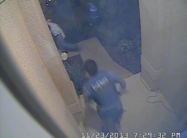 Twenty-eight people were arrested in a child-sex sting in Osceola County, the Sheriff's Office said Monday. A man is seen running from officers in this still from a video provided by the Osceola County Sheriff.