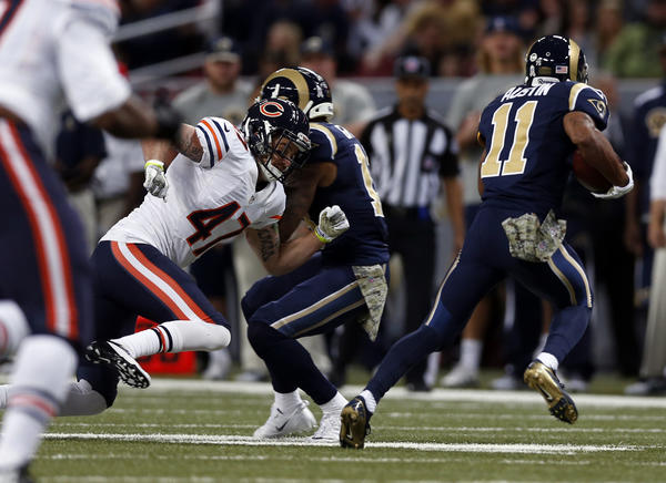 The Bears have been hurt by big runs like Tavon Austin's on Sunday.