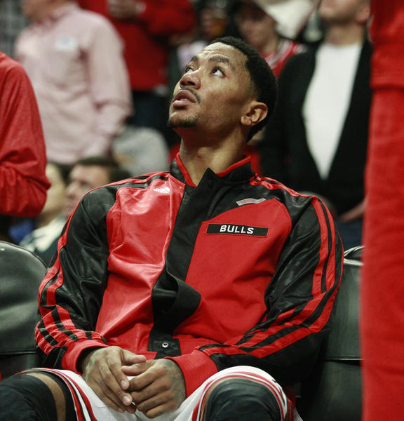 Bulls point guard Derrick Rose is finished for the season after knee surgery Monday.