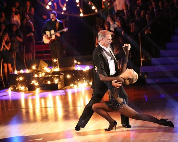 "Bill Engvall and Emma Slater take their final bow on ""Dancing With the Stars."""