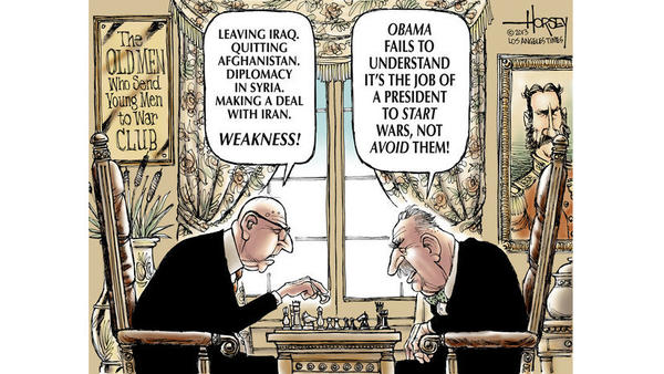 David Horsey - Iran nuclear deal commentary