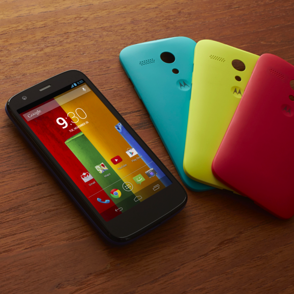Motorola's Moto G is now available for $179 in the U.S., launching earlier than was expected.