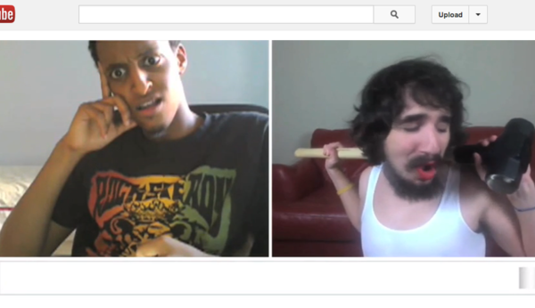 """A random viewer reacts to YouTube comedian Steve Kardynal's rendition of the Miley Cyrus hit """"Wrecking Ball."""""""