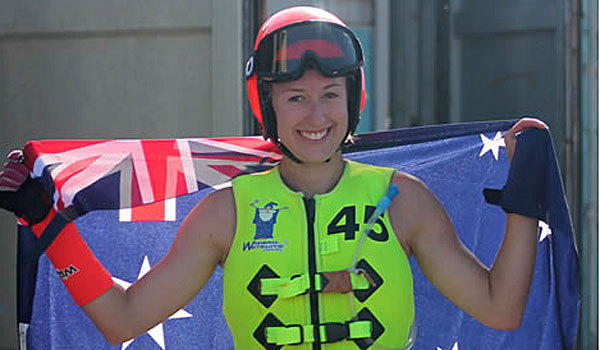 Sarah Teelow, 20, was a formula 2 world water skiing champion.