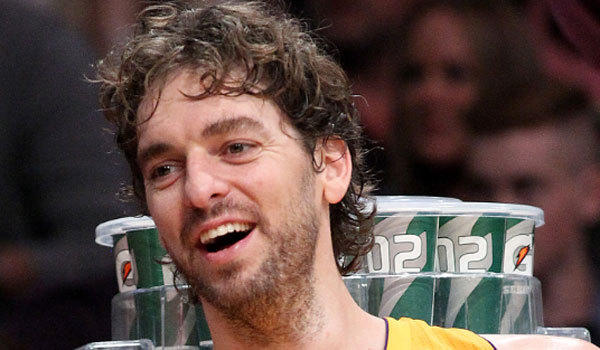 Pau Gasol is in the last year of a Lakers contract paying him $19 million this season.