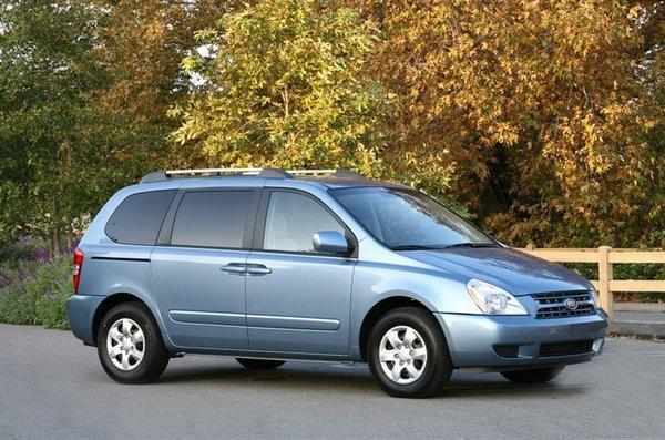 kia recalls nearly 80 000 sedona minivans for corrosion. Black Bedroom Furniture Sets. Home Design Ideas
