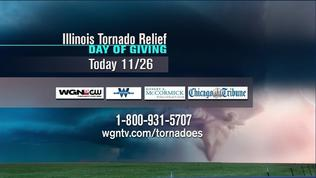 'Illinois Tornado Relief Day' to raise money for those hit hardest by the tornado