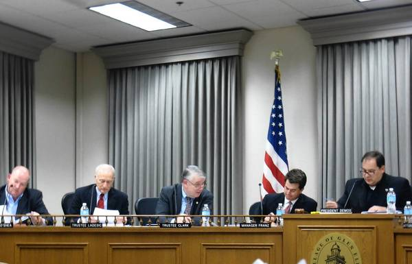 Glen Ellyn trustees on Monday approved changes to ambulance service fees.