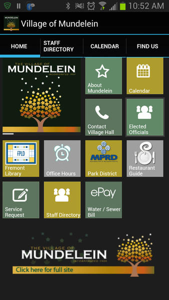 Mundelein launched a new mobile phone app Monday, which allows residents to pay bills and stay up-to-date with village events on their cellular devices.