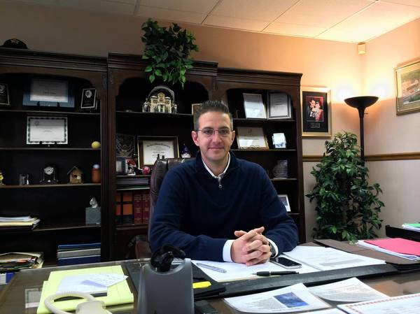 Tinley Park Village Manager Scott Niehaus is leaving to be Lombard's village manager in January.
