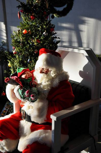 Horse-drawn sleigh rides around the Village Green will be offered Saturday, Nov. 30, as part of the annual Santa on the Green festival in Oak Lawn.