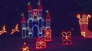 Celebration in Lights brightens Newport News Park