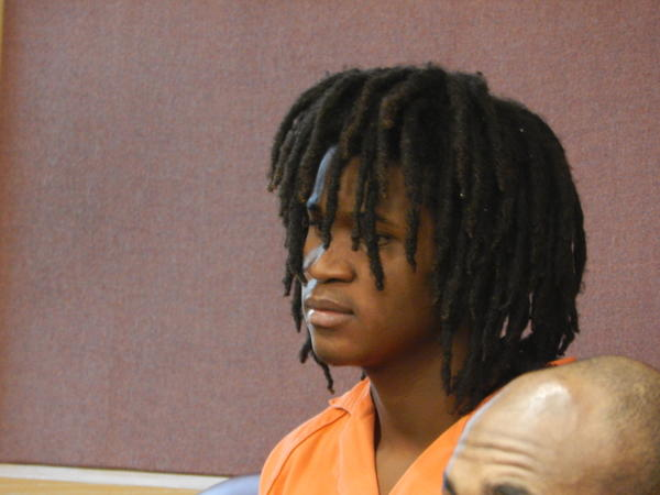 Desmond Black, 16, is accused of the Oct. 8 murder of Gerry Metayer in Lauderdale Lakes.