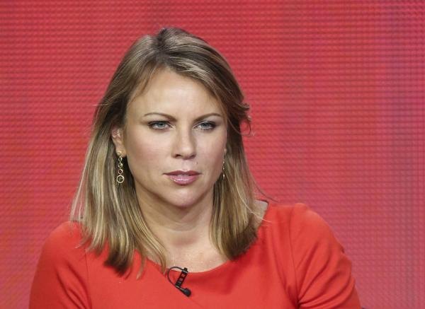 "News correspondent Lara Logan of ""60 Minutes Sports"" speaks onstage during the Showtime portion of the 2013 Winter TCA Tour at Langham Hotel on January 12, 2013 in Pasadena, California."