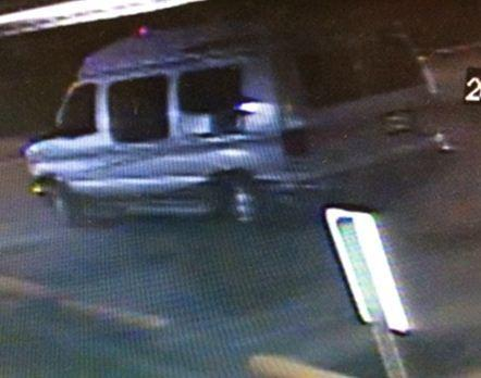 Miramar Police are looking for a group of burglars that broke into Big Daddys Pawn Shop then escaped in this Ford Econoline high top conversion van