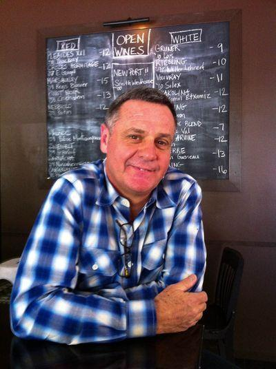 Claudio Blotta at barbrix in Los Feliz. This spring he and his wife Adria Tennor will open an Italian restaurant in Atwater Village.