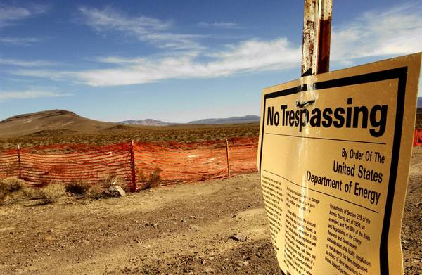 U.S. Sen. Harry Reid, D-Nev., has gone to great lengths to block a proposed nuclear waste dump site at Yucca Mountain.