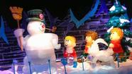 Frosty fits in at Gaylord's ice show