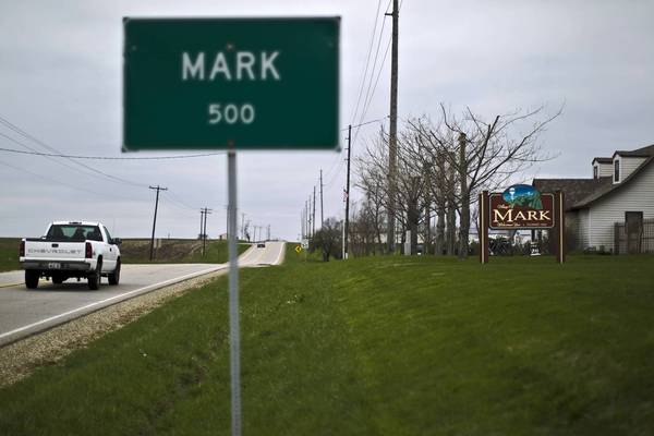 In 2008, the Illinois Department of Revenue challenged Hartney Fuel Oil Co.'s claim that its sales office was in Mark, a tiny village in Putnam County.